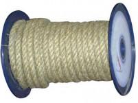 lano prírodné 14mm stáčané s PP (100m)