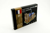 Pěnové puzzle 3D Notre dame 40 dílků