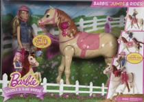 Barbie šampiónka s koňom