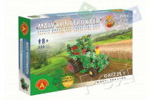 Malý konštruktér Grizzly multi traktor kov 320ks stavebnice