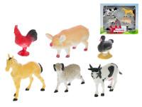 Zvieratká domáci 4,5-11 cm 6 ks