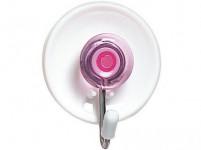 háčik samolepiaci kul.3,6x4,5cm plastový + kov. (3ks) - mix farieb