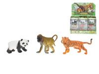 Zvieratká divoká 3 ks 7-9,5 cm - mix variantov či farieb