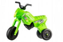 Odrážedlo Enduro Yupee zelené velké plast výška sedadla 31cm nosnost do 25kg 12m+