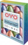 Barva na vajíčka OVO TŘPYT 4 barvy a 1 stříbrná třpytivá