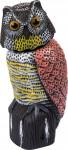 Plašič vtákov sova 16 x 17 xv 37,5 cm Stocker