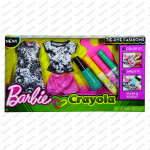 Barbie DIYcrayola batikovania - mix variantov či farieb