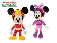 Mickey Mouse & Minnie plyšoví 40 cm - mix variantov či farieb