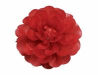 Kvet JIŘINA umelý červený 8cm