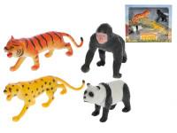 Zvieratká safari 8-15 cm 4 ks
