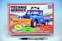 Stavebnica Monti 01 Technic service Land rover 1:35