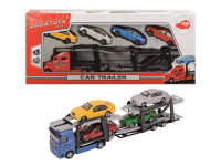 Autotransporter + 4 autíčka - mix variantov či farieb