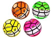 Lopta 23 cm dizajn futbal - mix farieb