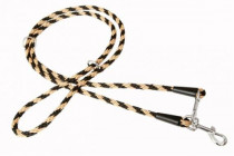 """Vodítko textil lano """"Špirála"""" prep. čierno / béž. B & F 1,00 x 240 cm"""
