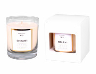 Sviečka v skle Parfum NO.5 Siman vonná 250g