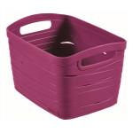 košík RIBBON 27,5x20,5x17,5cm (S) plastový, FI