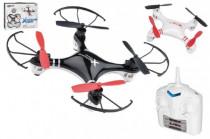 Dron RC bez kamery 15cm USB pro dobíjení plast na baterie - mix barev