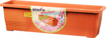 Plastia truhlík samozavlažovací Bergamot - teracota 50 cm