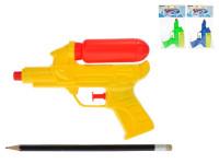 Vodní pistole 16 cm s nádržkou - mix barev