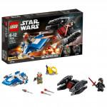 Lego Star Wars 75196 Stíhačka A-Wing vs. mikrostíhačka TIE Silenc