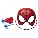 Spiderman Maska a výstroj s projektily - mix variant či barev