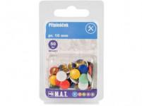 pripináčika pr.10mm (50ks) - mix farieb