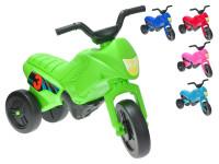 Odrážadlo motorka Enduro - mix farieb