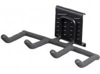 hák štvoritý hrable 21,5x10x13cm BlackHook záves. systém G21