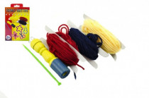 Sada paličkování pletení