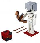 Lego Minecraft 21150 veľká figúrka: Kostlivec s pekelným slizom