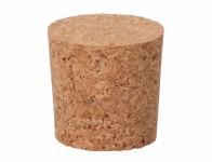 Zátka korková pro 10-34 litrové lahve 4x4,4cm