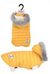 Obleček prošívaná bunda pro psy URBAN žlutá 35cm Zolux
