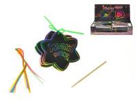 Magické papírky 6ks v sáčku 10x10cm - mix variant či barev