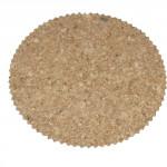 prostírání kruh 15cm zoubky korek (6ks)