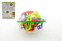Hlavolam Bludiště ovál 3D plast 20cm Perplexus
