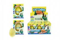 Vajcia liahnuce a rastúce lama plast 6cm - mix farieb