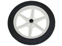 koleso k vozíku POPULAR, gumová obruč, 230x28mm