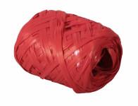 Stuha RAFIA vajíčko červená šířka 12,5mm délka 20m