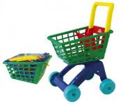 Nákupní vozík/košík plast