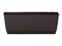 truhlík RATOLLA PW 38,6x15,4x14cm HN tm. (440U) záves. s miskou