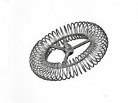 ružica komínová kruhová 140mm / M12, oceľ