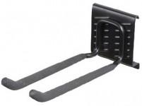 hák dvojitý dlhý 7,6x10x22cm BlackHook záves. systém G21