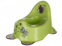 nočník dětský HIPPO protiskluzové prvky plastový, ZE