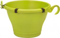 Elho kvetináč Corsica Hanging Basket - lime green 30 cm