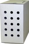 Transp. Krabička strednej biela 18,5 x 15 x 11 cm