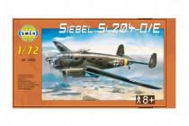 Model Siebel Si 204 D / E 1:72 29,5x16,6cm