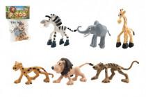 Zvieratká safari ZOO plast 9-10cm