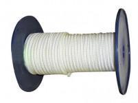 šnúra PA bez duše 4mm BI pletená (200m)