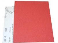 papier brus. na drevo 145 zr. 40, 230x280mm