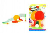 Mini sada stolní tenis se síťkou plast 15cm